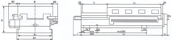 本系列液压滑台是根据国家标准gb3668